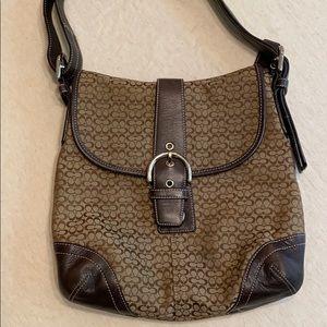 🦋 brown coach purse